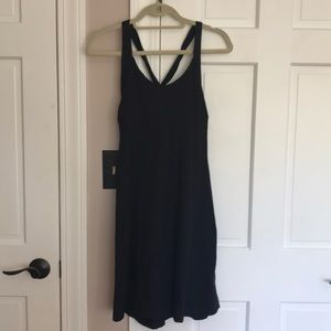 Patagonia black dress with built in bra